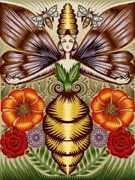 Melissa- Greek myth: a mountain nymph that cared for Zeus as an infant. She fed him milk and honey. When cronos realized that she had a part in rescuing Zeus, he turned her into an earthworm, but Zeus took pity on her and turned her into a beautiful bee.