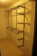 cheap rubbermaid closet organizer