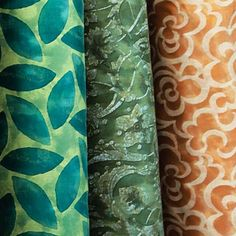Summer flavors #Fabric #Fortuny #design #pattern #color