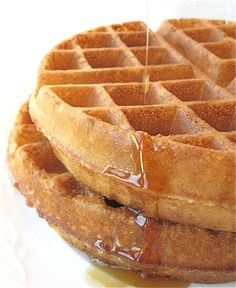 Maybe if I made them whole wheat I wouldn't feel so bad about the gallons of syrup my kids eat. #breakfast