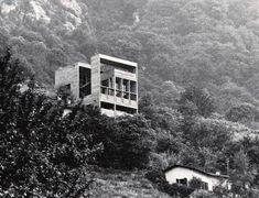 House in Cugnasco, Switzerland, by Ivano Gianola (1970-71)