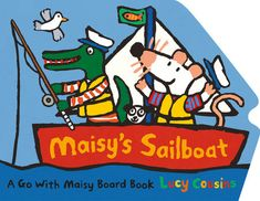 Whether driving over land or sailing across the sea, Maisy takes her friendsall over the place in two shaped board books. Today is the perfect day to go sailing in Maisy's boat! When Maisy and Charleystop at the blue lagoon for fishing and snorkeling, how many colorful fishwill Maisy see under the water? What surprise will Charley catch on hisfishing line? What an adventure out on the waves! Three cheers for CaptainMaisy! Maisy Mouse, American Girl Parties, Underwater Animals, Colorful Fish, Blue Lagoon, Used Books, Sailboat, Cousins, Childrens Books