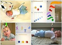 This is a complete summary of the Montessori inspired mobiles we used with Otis. I apologise for the long post but I feel the topic is really important. Mobiles are an essential part of a Montessori infant environment and there is such little information available on them. 1. The Munari...