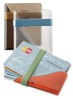 Card Case offers low-profile security for travel and every day.
