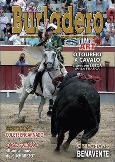 Pátio de Quadrilhas: Capa da Edição Nº 307 da Revista Novo Burladero