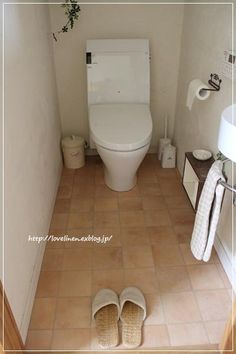トイレの床、リフォーム完了! : ** 大好きに囲まれたくらし **