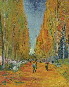 Van Gogh Avenue in Aeles / Les Alyscamps