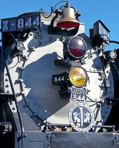 Union Pacific Locomotive 844 Front by StevenM_61 on Flickr.