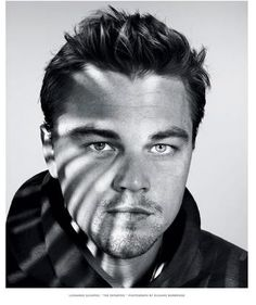 Leonardo. © Dan Winters.  nice photo & I love Leo :)