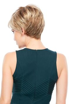 Hair Loss Remedies Wigs Women - Allure is a short pixie wig designed with synthetic hair and traditional cap construction. Allure is a favorite among hair loss wigs for women. Short Pixie Wigs, Short Hair Cuts, Short Hair Styles, Pixie Cut, Short Hairstyles For Women, Trendy Hairstyles, Choppy Hairstyles, Pixie Haircuts, Jon Renau