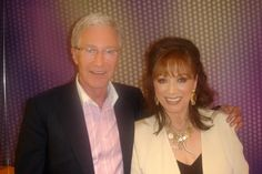With TV host Paul O'Grady