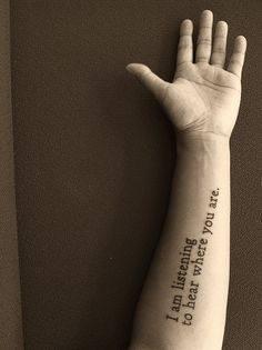 "Two Headed Boy"" -Neutral Milk Hotel Tattoo Script, I Tattoo, Tattoo Quotes, Weird Tattoos, Body Art Tattoos, Tatoos, Neutral Milk Hotel, Two Heads, Stick And Poke"
