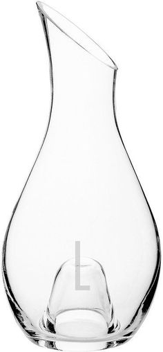 Cathy's Concepts 30-oz. Aerating Monogram Wine Decanter #WineDecanter