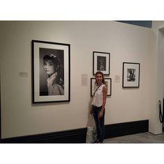 Domitilla Bertusi at the National Portrait Gallery Audrey Hepburn : Portraits of an Icon. Very lovely meeting you! #rareaudreyphoto