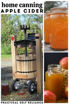 Canning Apples, Canning Vegetables, Canning Tips, Home Canning, Canning Recipes, Homemade Apple Juice, Homemade Alcohol, Homemade Wine, Cider Making
