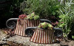Pflanzgefäße aus Ton und Keramik von Margit Hohenberger