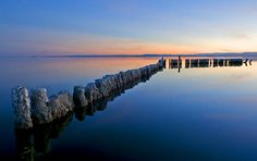 The Salton Sea is a shallow, saline, endorheic rift lake located directly on the San Andreas Fault, predominantly in California's Imperial and Coachella Valleys. It's water is saltier than seawater.
