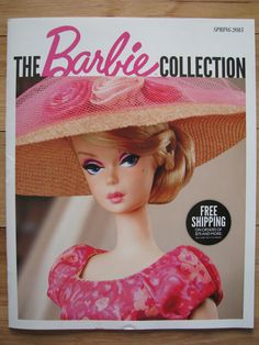 Barbie Catalog Spring 2015 Scarlett O'Hara Faraway Forest Classic Magazine New |