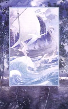 The Swan Ships -- Alan Lee.