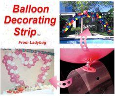 Balloon Decorating Strip Ideas