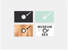 Museum Of Sex Business Cards