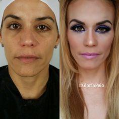 Makeover tutorial soon in my YouTube channel, Gloria Pelo, only with L'Oréal products.  #gloriapelo #guruofbrides #elcuartodelanovia #bestmakeupartistmiami #destinationsweddings #promuamiami #makeup #hairdo #bridalmakeup #bridalhair #hdmakeup @lorealparisfr @lorealparisusa