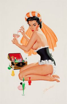 the perfume box by Bill Randall