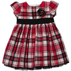 Carters Baby Girls Dress Set  Plaid Dress SetRed6 Months >>> You can find more details by visiting the image link. (This is an affiliate link) #BabyGirlDresses