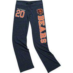 Chicago Bears Women's Heathered Grey Tri-Blend Jersey Pant $41.99 http://www.fansedge.com/Chicago-Bears-Womens-Heathered-Grey-Tri-Blend-Jersey-Pant-_-1943515598_PD.html?social=pinterest_pfid22-40935