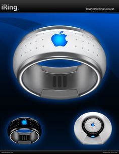 Gorgeous concept and #design. iRing. Control your iPod and iPhone device wirelessly.