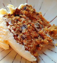 Southern style carrot cake .