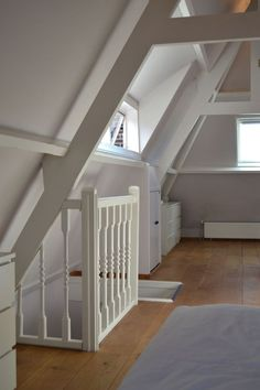 Dach zolder - sfeer Vacuum Cleaners The vacuum cleaner that you buy should be suitable for the parti Loft Staircase, Attic Stairs, House Stairs, Attic Loft, Loft Room, Bedroom Loft, Loft Conversion Bedroom, Attic Conversion, Attic Renovation
