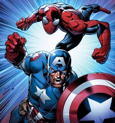 Cap & Spidey