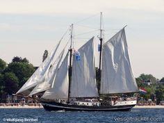 'Abel Tasman' by Wolfgang Berthel Abel Tasman, Tall Ships, Sailboats, Seas, Night Skies, Sailing Ships, History, School, Photos