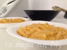 La Magia con TM5: Macarrones con salsa de verduras y queso