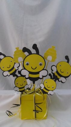 Bumble Bee Party Centerpiece 3 Piece By DreamComeTrueParties