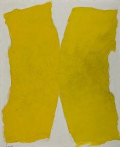 Tomie Ohtake - Composição em Amarelo. MASP (Museu de Arte de São Paulo), Brazil.