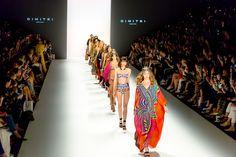 """DIMITRI Fashionshow - Die Show von Dimitrios Panagiotopoulos bei der Mercedes Benz Fashionweek in Berlin - in Kooperation mit """"UHLALÁ Beachwear"""" war eines"""