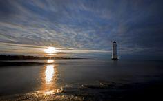 New Brighton sunset by Richard Littler on 500px
