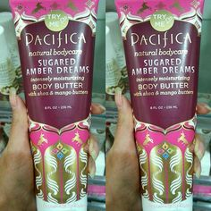 @ilovepacifica Vegan+ Cruelty-Free NEW!!! Scent  Sugared Amber Dreams Body Butter is amazing!!! I was able to Try it out at my local @ultabeauty and It's definitely on my #myveganwishlist And its...