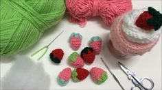 Tutorial Frutilla a Crochet - Easy Crochet Strawberry Tutorial (English ...