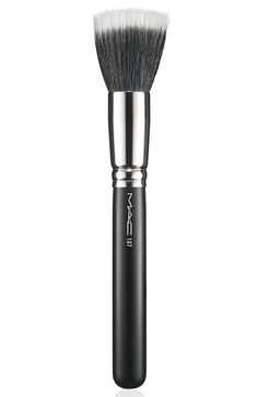 M·A·C Duo Fiber Face Brush #187 available at #Nordstrom