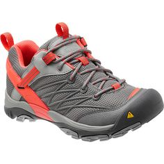 Oftentimes you don't really need a burly boot on the trail; for fast, light ascent the Keen Women's Marshall Hiking Shoe provides supportive protection without excess weight or bulk. This low-cut shoe has the same durable and strong construction as the Keen boot as well as a high-rebound PU midsole and high-traction rubber sole for comfort and grip on rugged terrain. Its sporty, speedy look is sure to put some pep in your stride, and its versatile style works for outdoor chores or play as…