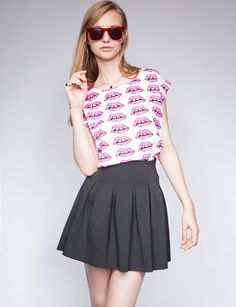 Perfect neoprene skirt