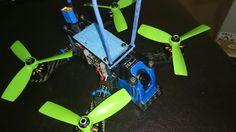 "My 2015 built Shendrones Tweaker180fpva 4"" still running strong. Naze32 rev5 with BF3. 0, SUNNYSKY v2 4S able 2204 2300kv, first series littlebee escs, et200 vtx with added heatsink covering rust, runcam swift fpv cam . frsky d4r ii ppm. Haven't updated its hardware as if I do that it won't be the same Tweaker I still like flying."