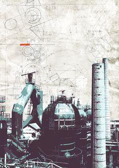 Industrial landscape #4