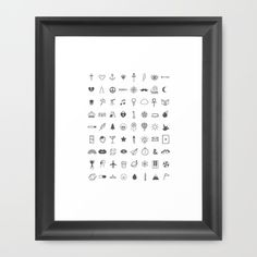 Finger Tattoos Framed Art Print by Alisha Jensen. Worldwide shipping available at Society6.com. Just one of millions of high quality products available.