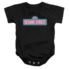 Sesame Street - Alt Logo Baby Onesie