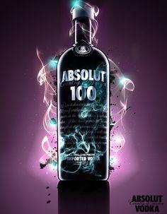 Light Absolute Vodka