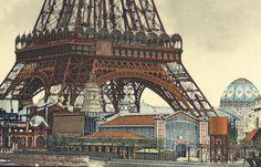 La gare Lisch accueillait lesvisiteurs au pied delatour Eiffel avant d'être délaissée en banlieue. Des riverains veulent lasauver.